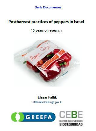 PUBLICATION - Postharvest practices of peppers in Israel – 15 years of research