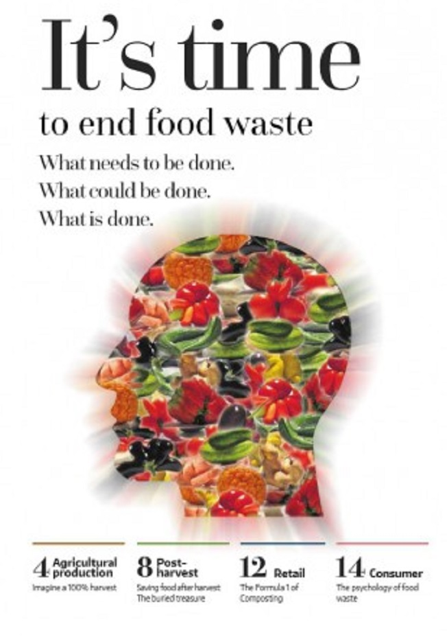 It's time to end food waste
