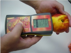 DA-Meter, non-destructive fruit quality control tester using near-infrared spectrometer (NIRS)