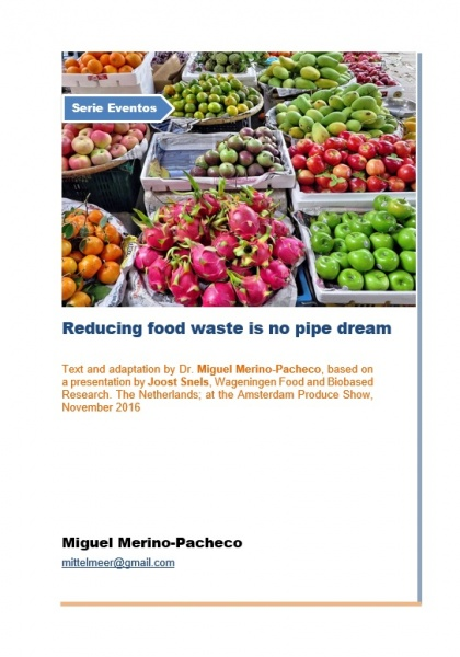 Reducing food waste is no pipe dream
