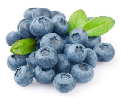 Wax removal in blueberries shortens the self-life