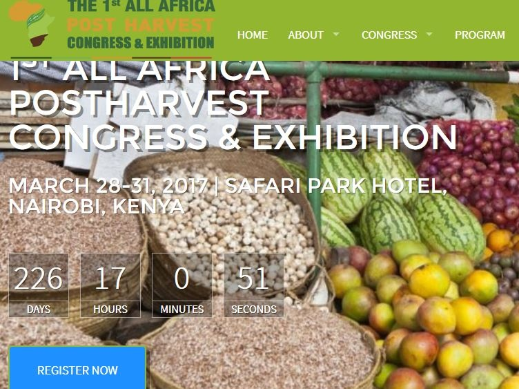The 1st All Africa Postharvest Congress & Exhibition