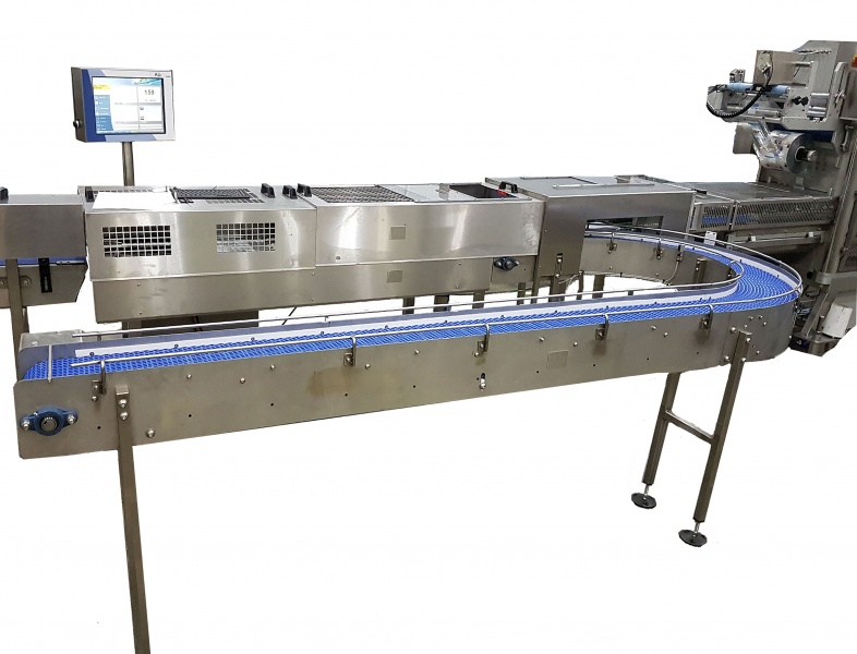 New Aja C80 'High Speed' Pre Seal – Pre Punneted Produce Average 'e' Weight Checkweigher and Re-Work weigh station