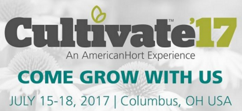 EMS will be present on the Cultivate'17 in Columbus, Ohio