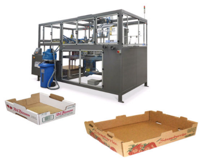 Eagle Packaging has launched the Vassoyo Air XL for extra-large produce trays