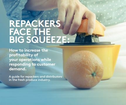 How can repackers in the fresh produce industry keep up with consumer demand