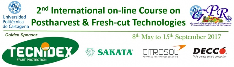 2nd International On-line Course on Postharvest & Fresh-cut Technologies