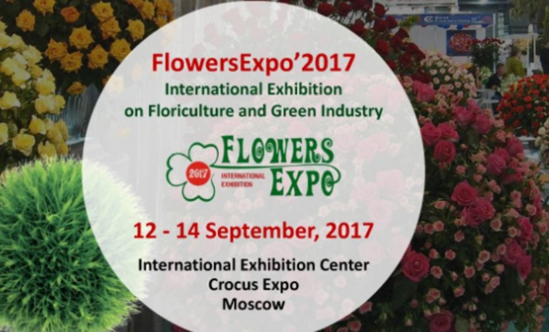 EMS b.v will attend the next edition of the Flowers Expo in Moscow
