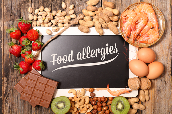 How to modify ingredients for allergen-free foods