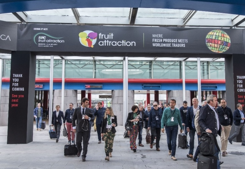Fruit Attraction 2018 will look after the intellectual, industrial and brand rights of exhibitors and visitors