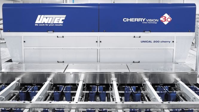 Surprising results of the Spanish Cherry Season: UNITEC technology Cherry Vision 3.0 keeps its promises