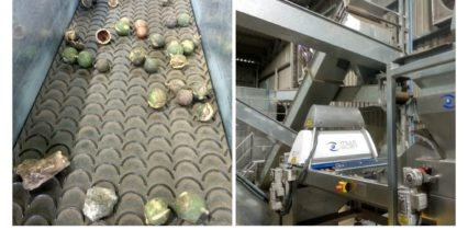 Macadamia sorting solutions showed in Australia
