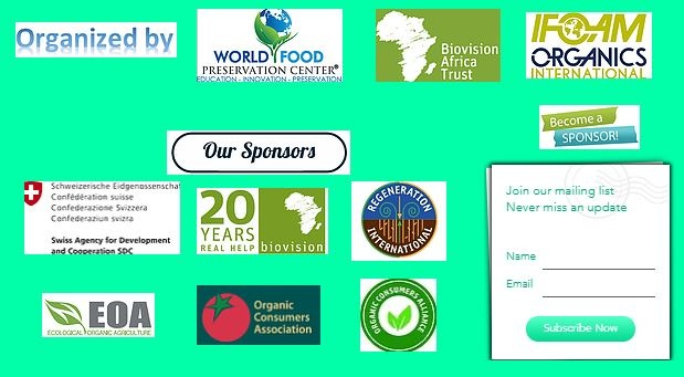 Live streaming for the 1st Int. Conference on Agroecology Transforming Agriculture & Food Systems in Africa