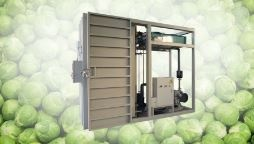 WEBER ONE, single pallet vacuum cooler for all standard pallet sizes